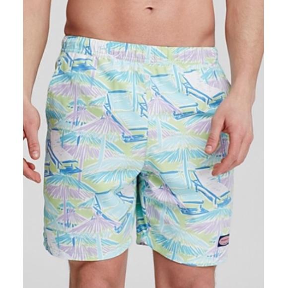 6d2b1cda93 Vineyard Vines Beach Huts Chappy Swim Trunks Men M.  M_5b007d516bf5a6e4704455d3